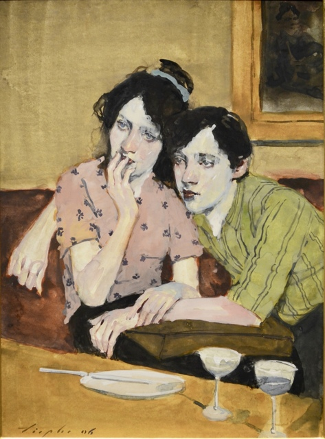 , 'Couple In Cafe ,' 2007, Off the Wall Gallery