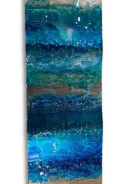 Ken Rausch, 'Ocean Waves ', 2020, Sculpture, Mixed Media on Steel, Art Leaders Gallery