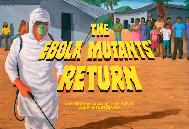 , ' THE EBOLA MUTANTS´RETURN,' 2016, EL MIRADOR ESPACIO