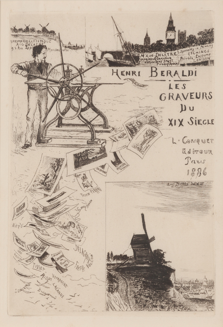 , 'Frontispiece to Les Graveurs du XIX Siecle, By Henri Beraldi,' 1886, Childs Gallery