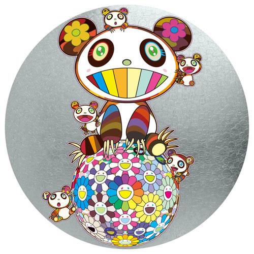 Takashi Murakami, 'PANDA AND PANDA CUBS', 2019, Print, 4c offset + cold stamp, Dope! Gallery
