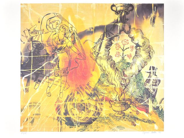 Sigmar Polke, 'Affenschaukel', 1990-2000, ARTEDIO