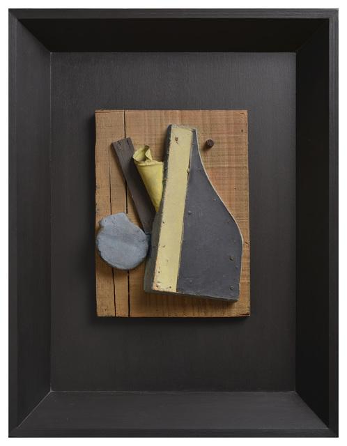 , 'Untitled (Merzrelief Blau, Beige),' 1942, Galerie Zlotowski