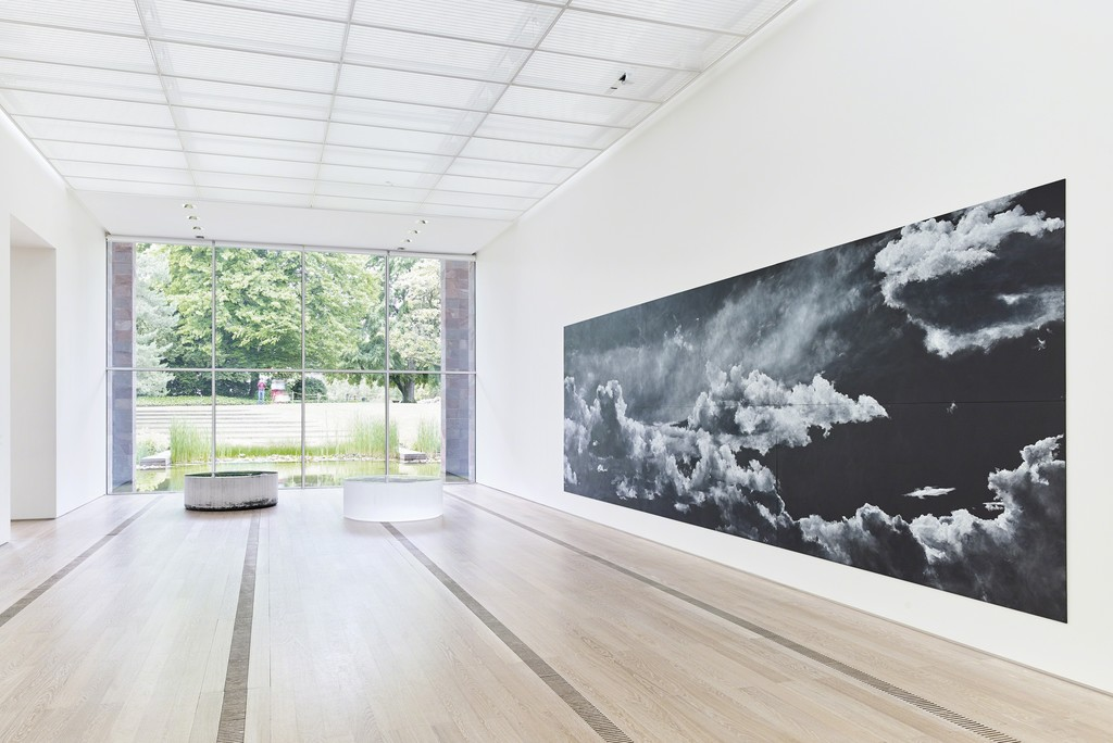 "Exhibition ""Beyeler Collection / Nature + Abstraction"" at the Fondation Beyeler, Riehen/Basel, 2018; photos: Mark Niedermann"