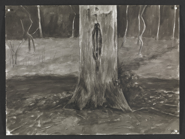 , 'Wounded Tree I,' 2015, The National Gallery, London