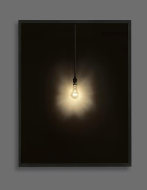 , 'Lightbulb,' 2017, Cob