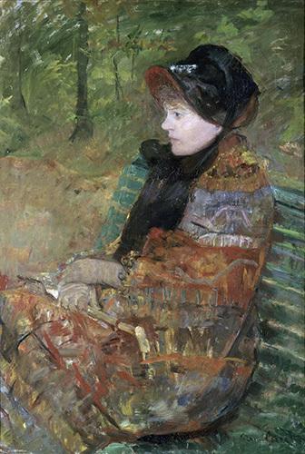 , 'Autumn, Portrait of Lydia Cassatt,' 1880, American Federation of Arts