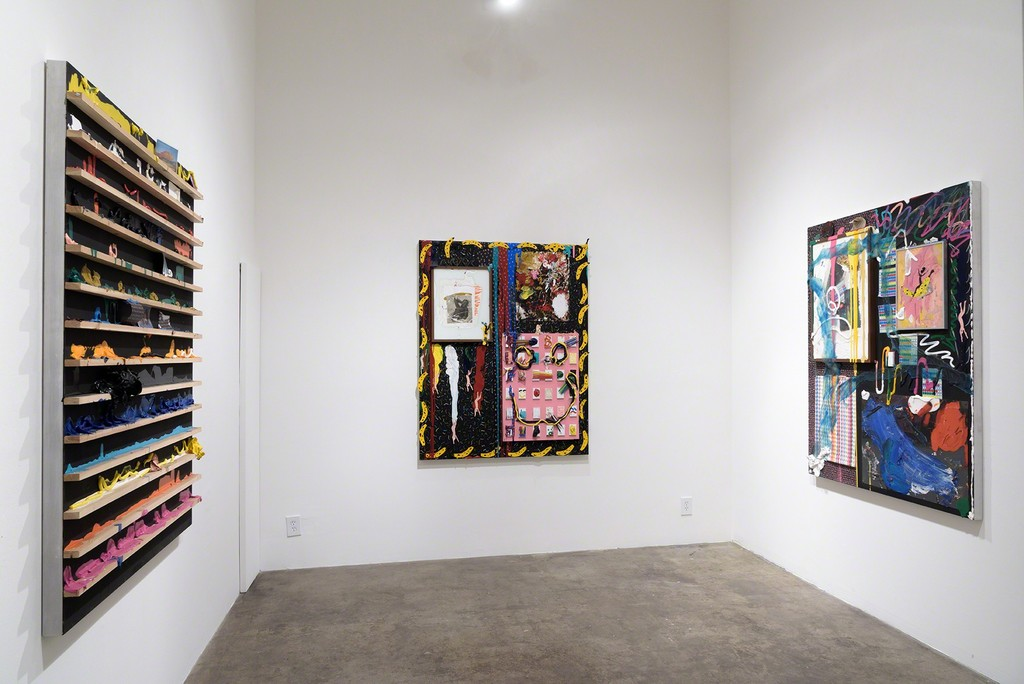 Installation View, Devin Troy Strother, It's a kickback, not a party. Yes, Please & Thank You (a Richard Heller Gallery Project Space), November-December 2016.