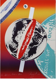 James Rosenquist, 'Spinning Faces in Space,' 1972, Heritage Auctions: Valentine's Day Prints & Multiples