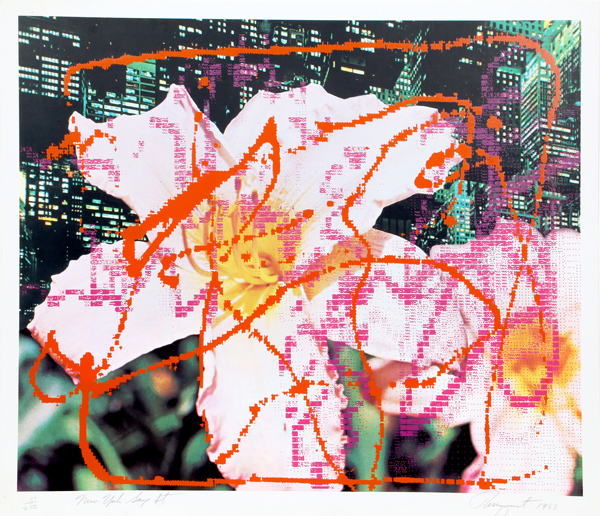 , 'Communication Center, New York, NY,' 1983, Woodward Gallery