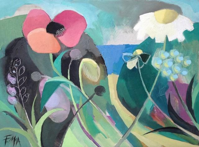 , 'Coastal Wildflowers,' 2017, Thackeray Gallery