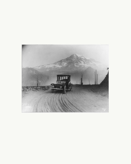 Peter Funch, 'Mt. Rainier from Ricksecker Point, print of vintage photo ', 2015, V1 Gallery