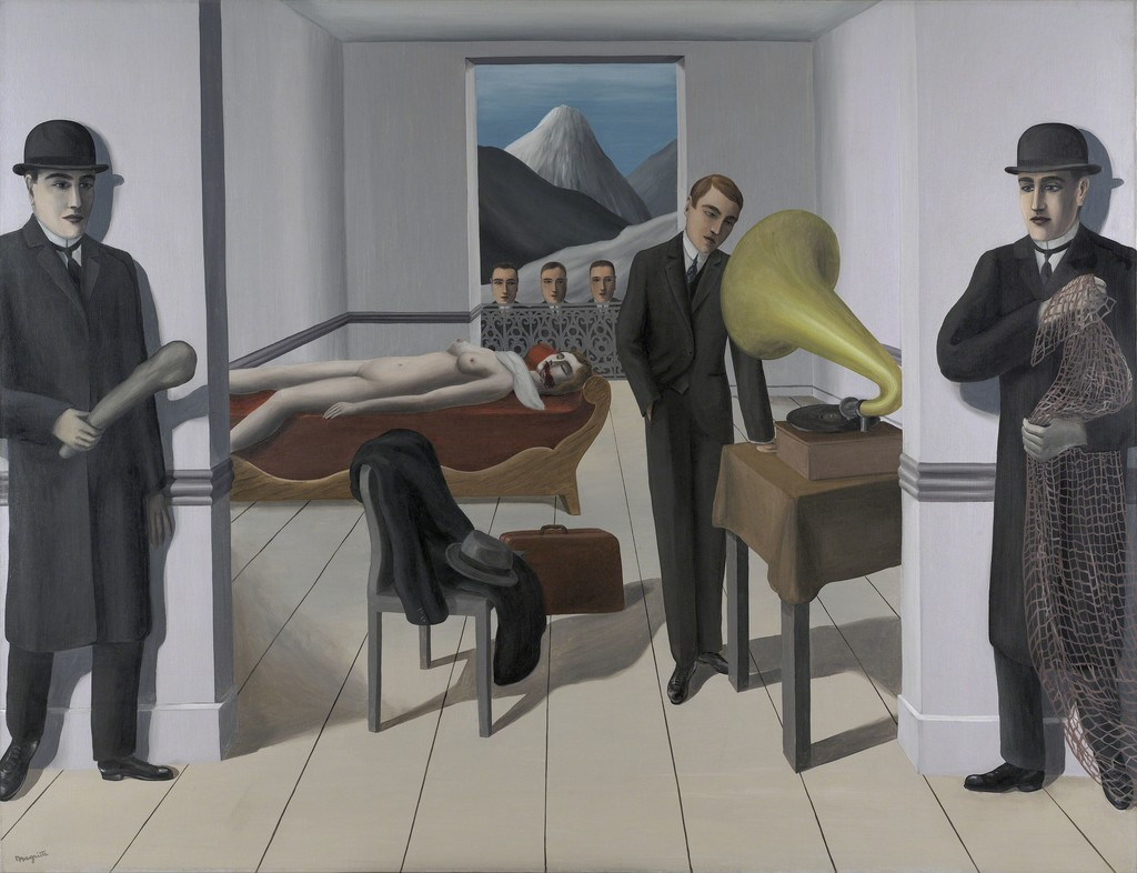 René Magritte The Menaced Assassin L Assassin Menacé 1927