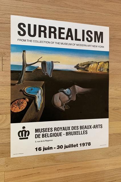 vintage 1993 Salvador Dali original art poster  7314