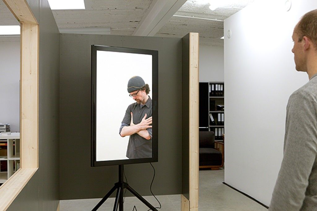 """Anneke A. de Boer, """"if someone is going to play my part"""", video installation, 2011   image: Anneke A. de Boer"""
