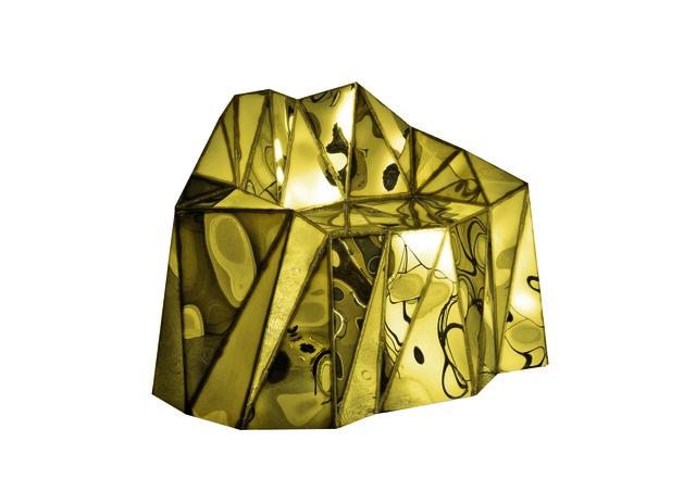, 'Glenda Gold Chair,' 2015, Mazel Galerie