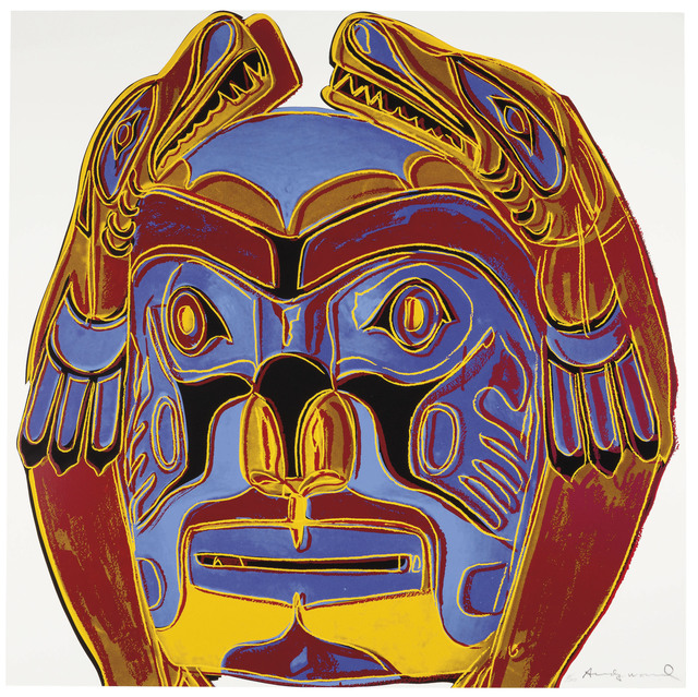 Andy Warhol, 'Northwest Coast Mask, from Cowboys and Indians', 1986, Christie's