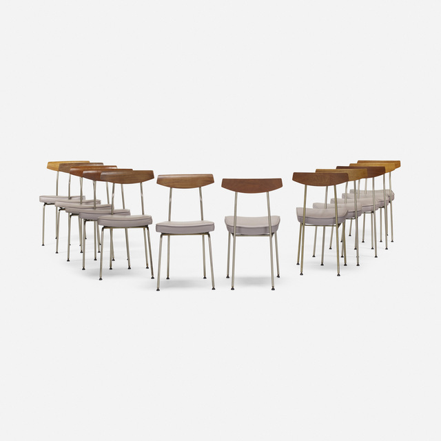 John & Sylvia Reid, 'dining chairs, set of twelve', 1959, Wright