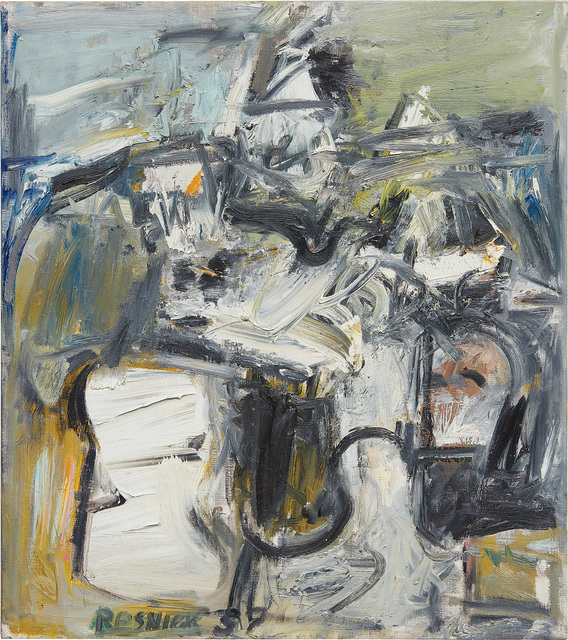 Milton Resnick, 'Idyl', 1957, Painting, Oil on canvas, Phillips