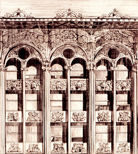 Richard Haas, 'Bayard-Condict Building (65 Bleeker Street, New York City)', 1970, Alpha 137 Gallery