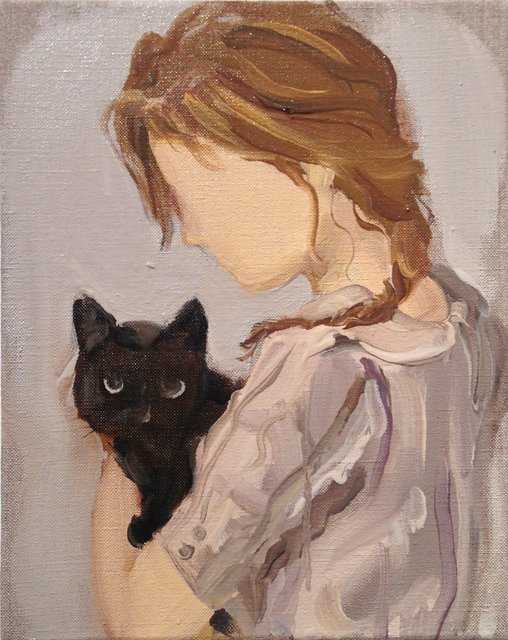 Gideon Rubin, 'Black Cat,' 2012, Hosfelt Gallery