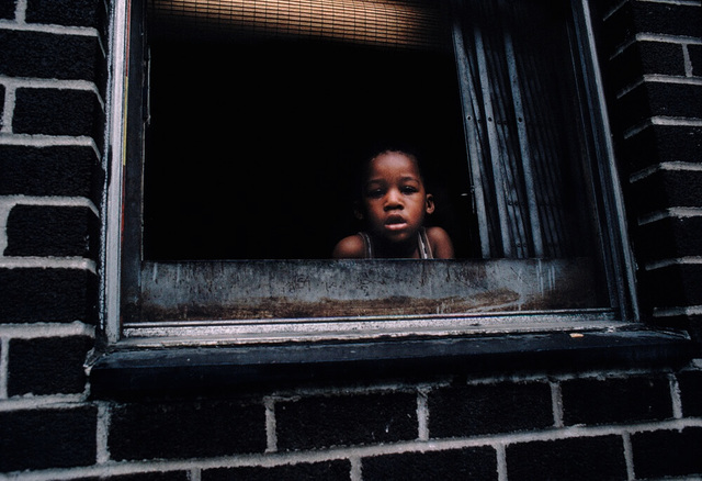 , 'Boy in Window, Spanish Harlem, NY,' 1988, Galerie Bene Taschen