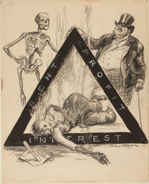 , 'The Triangle Shirtwaist Factory Fire for New York Call,' March 27-1911, Delaware Art Museum