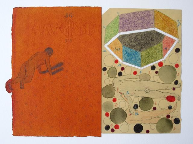 , 'Dibujo 5 (detail),' 2003, Casas Riegner