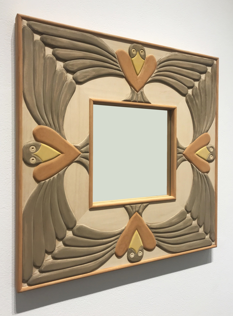 , 'Mirror with Birds,' 2017, Gallery NAGA