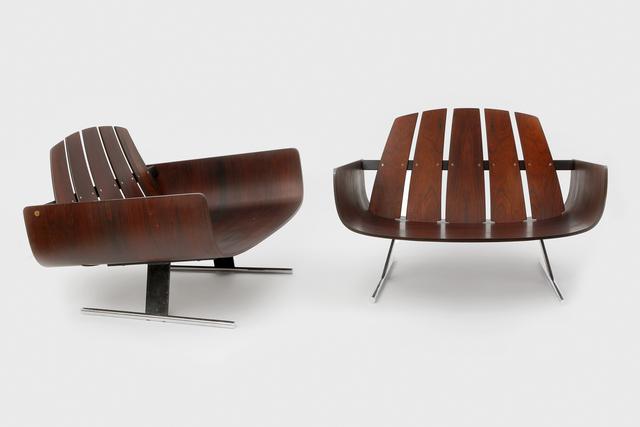 , 'Pair of Presidencial armchair,' ca. 1960, Galerie Le Beau - Stanislas & Céline Gokelaere