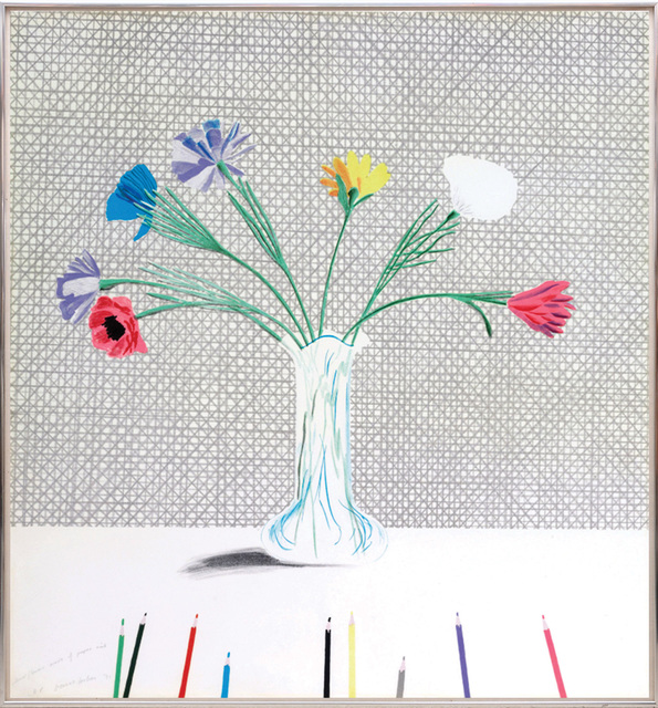 David Hockney, 'Coloured Flowers Made of Paper and Ink.', 1971, Peter Harrington Gallery