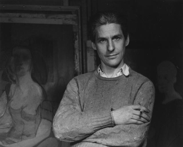 Ellen Auerbach, 'Willem de Kooning,' 1944, Robert Mann Gallery