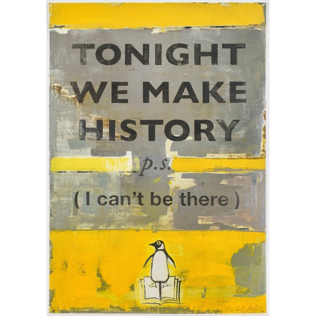 Harland Miller, 'Tonight We Make History', 2018, COMA