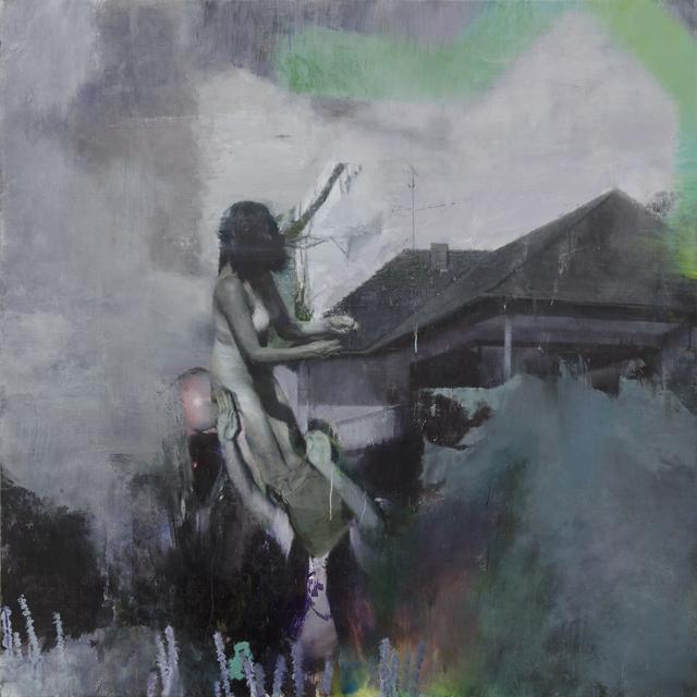 , 'Haus,' 2014, Parafin