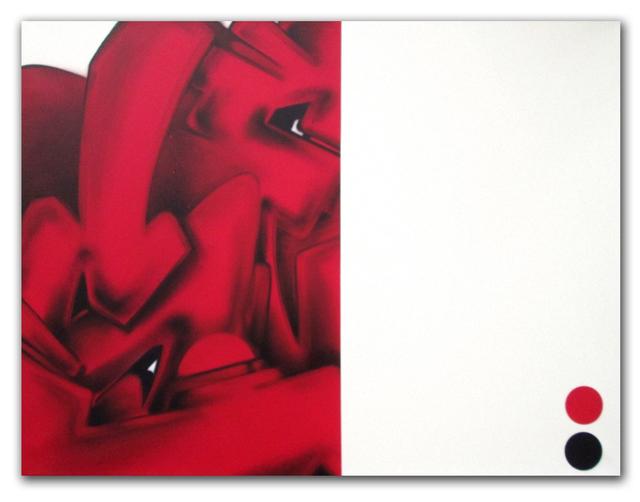 SEEN, 'Red Subway S', 2008, Dirtypilot.com/Hobbs Gallery