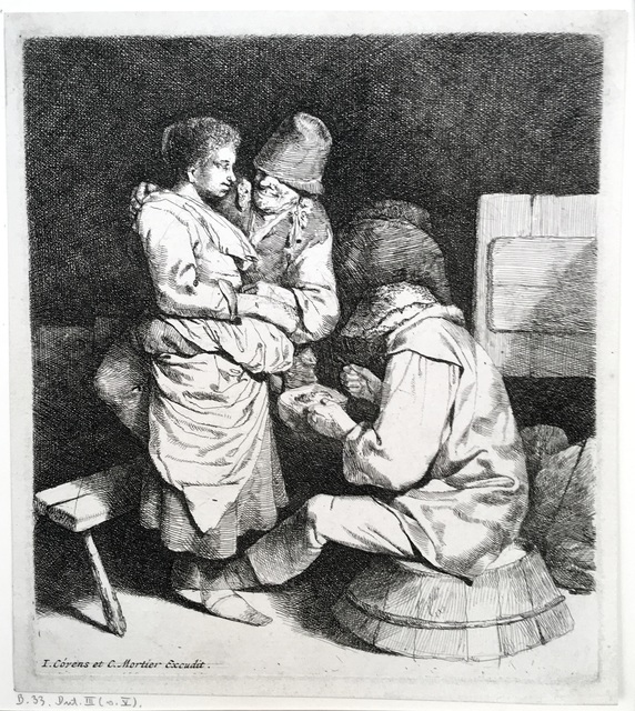 Cornelis Bega, 'The Young Hostess', 1660-1664, Harris Schrank Fine Prints