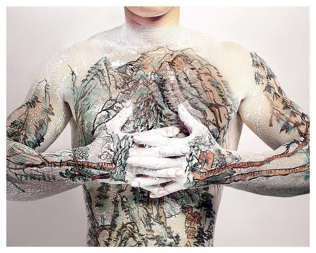 , 'Chinese Shan-shui Tattoo 03,' 1999, Leo Gallery