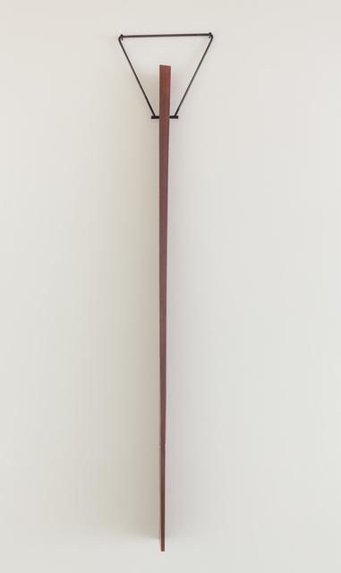 , 'Pierced Wedge,' 2018, Goodwin Fine Art