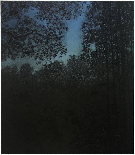 Wulf Winckelmann, 'Abend', 2012, Painting, Mixed media on canvas, Bode Gallery