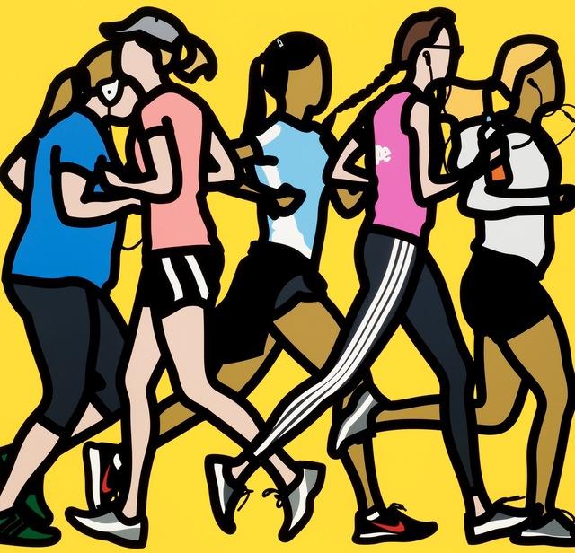 Julian Opie, 'Running Women', 2016, Filter Fine Art