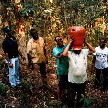 , 'The Great Drinking Bout I,' 2007, Graça Brandão