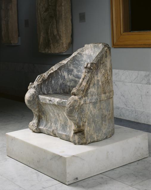 'Throne',  4th century B.C., J. Paul Getty Museum
