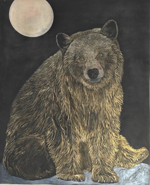, 'Black Bear Moon,' 2018, MiXX projects + atelier