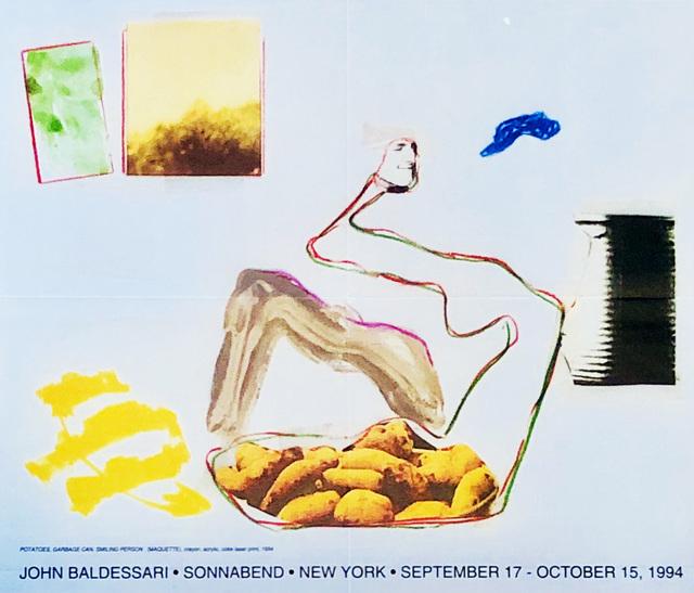 John Baldessari, 'John Baldessari at Sonnabend Gallery New York: 1994 exhibition poster ', 1994, Lot 180