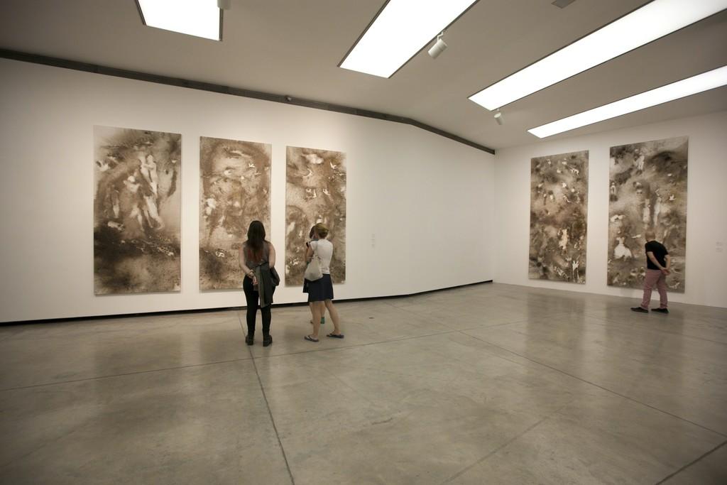 Installation view of Impromptu, Fundación Proa, Buenos Aires, 2014. Photo by Wen-You Cai, courtesy Cai Studio