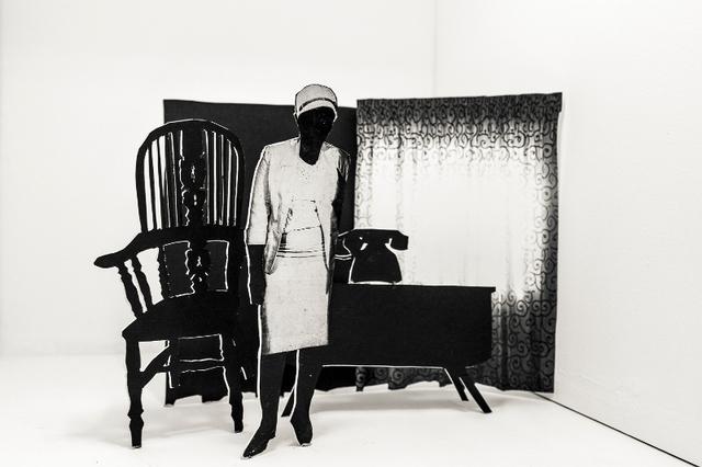 , 'O emetse mohala,' 2016, Afronova
