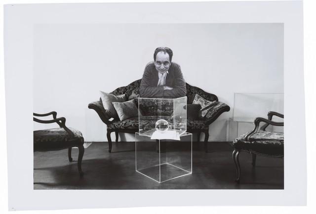 """, 'Studio per """"Sala d'attesa"""" (Ermite à Paris),' 2011-2012, Repetto Gallery"""
