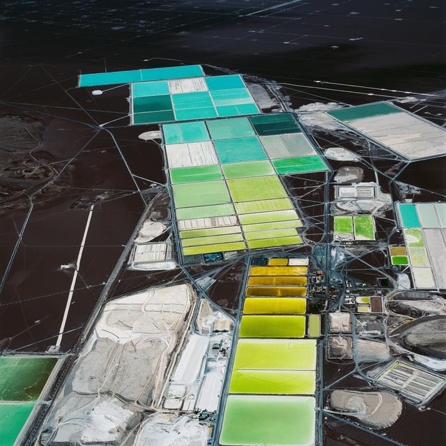 David Maisel, 'DESOLATION DESERT: Lithium Extraction 1, Salar de Atacama, Chile', 2018, Headlands Center for the Arts Benefit Auction