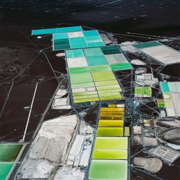 DESOLATION DESERT: Lithium Extraction 1, Salar de Atacama, Chile