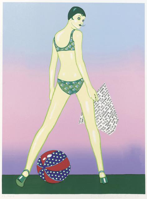 , 'Beach Ball,' 1978, Galerie Bei Der Albertina Zetter